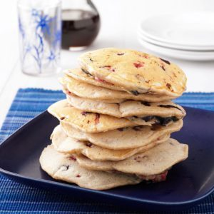Almond Berry Pancakes