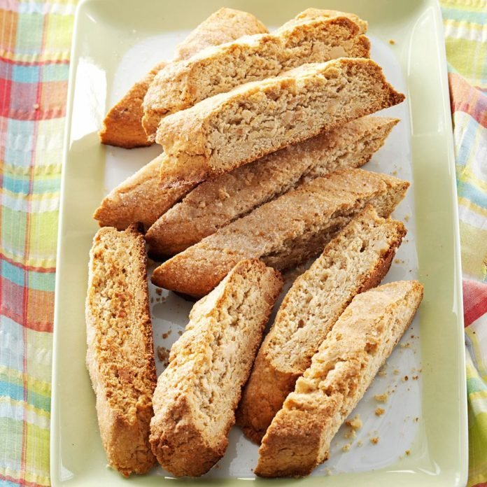 Anise Biscotti