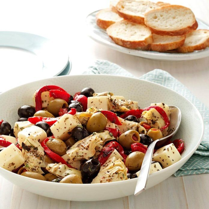 Salads: Antipasto Appetizer Salad