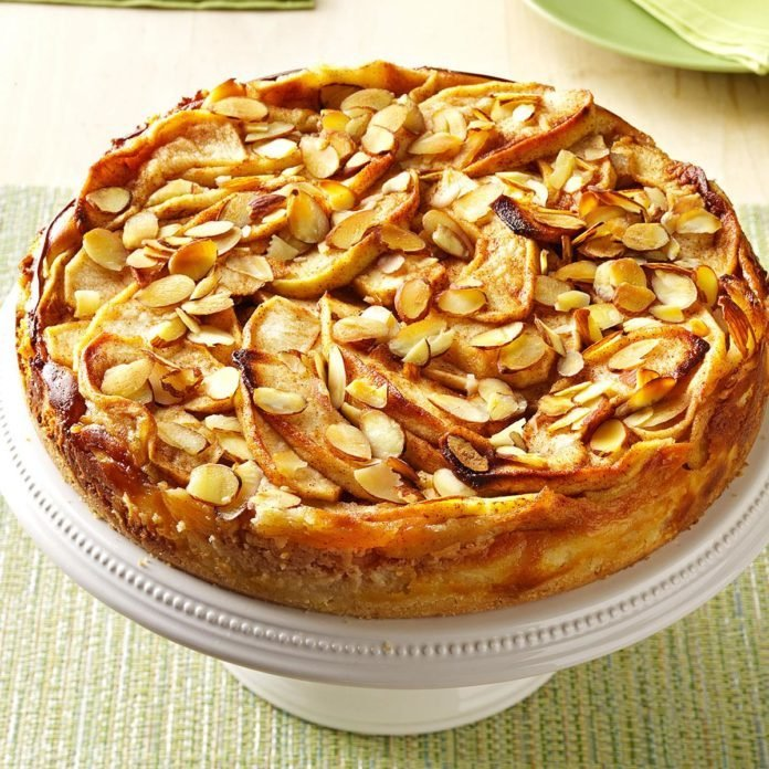 Apple Bavarian Torte