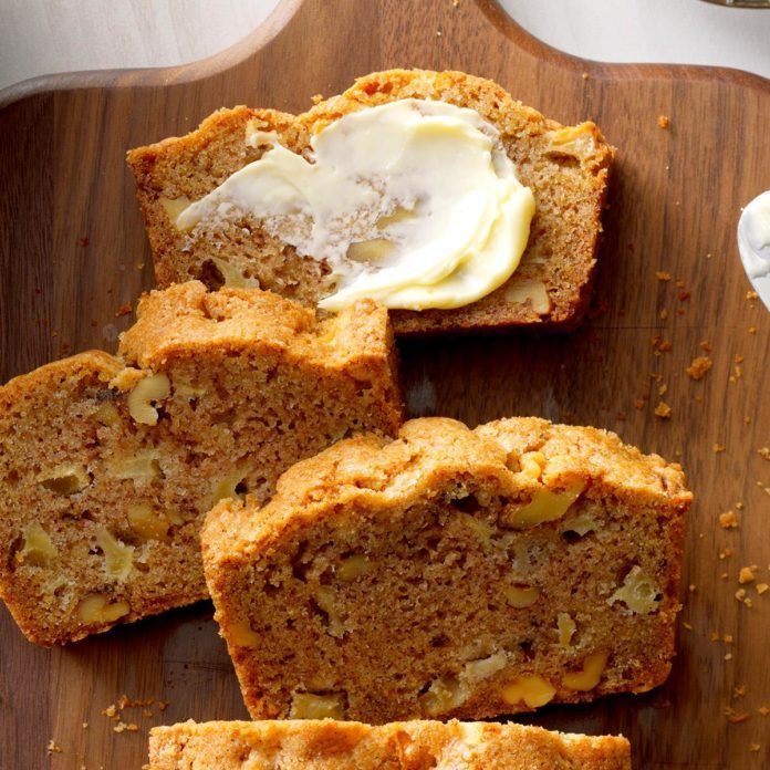 Kansas: Apple Bread