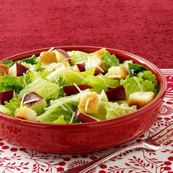 Apple Caesar Salad