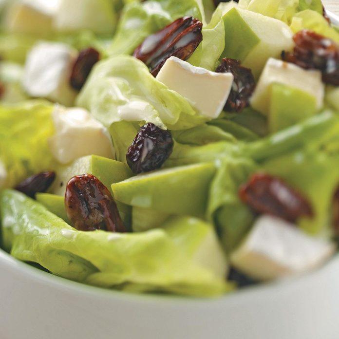 Apple Camembert Salad