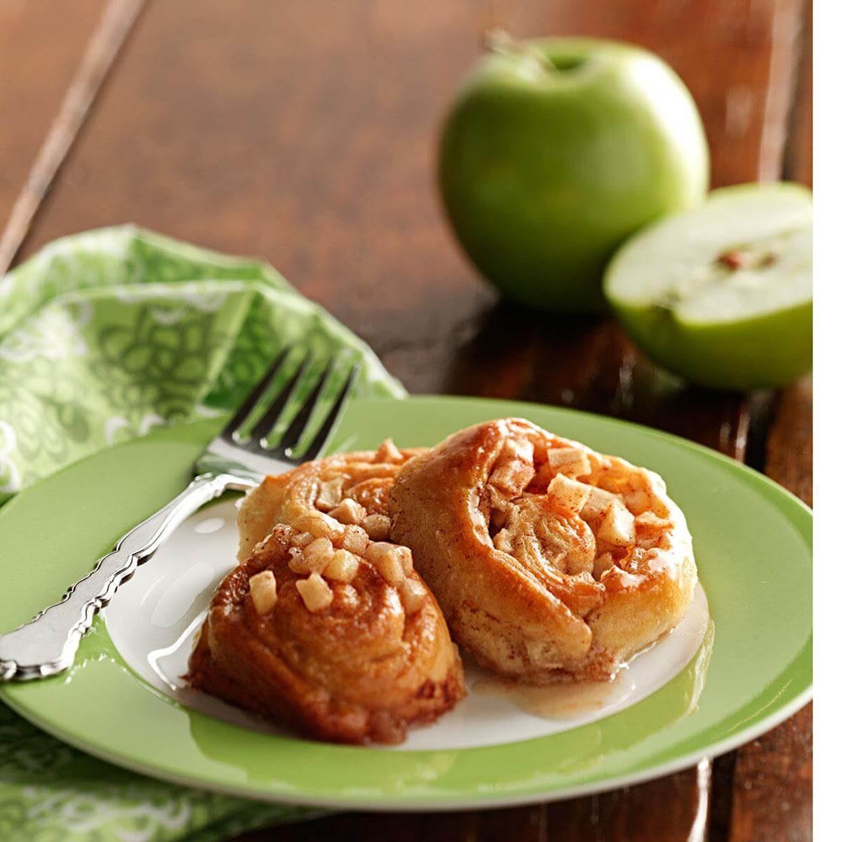 Apple Pinwheels Recipe Taste Of Home