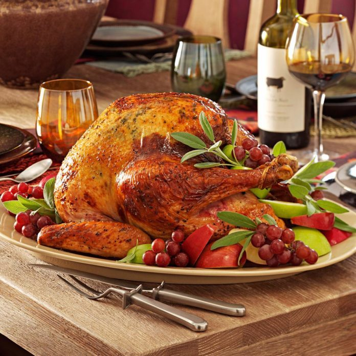 Apple-Sage Roasted Turkey