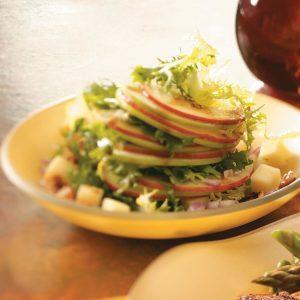 Apple Salad with Maple Vinaigrette