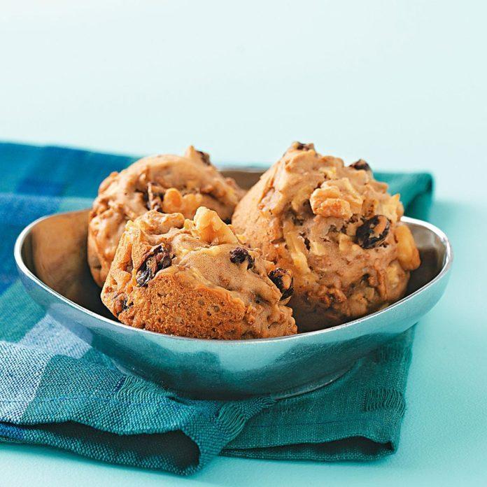 Apple Walnut Bran Muffins