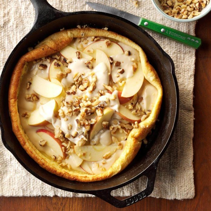 Apples 'n' Cream Pancake