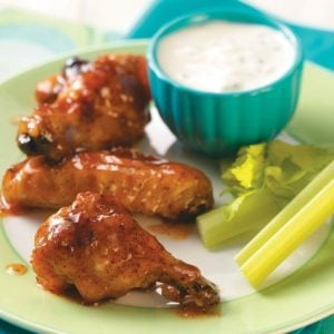 Apricot Chicken Wings