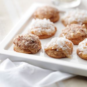 Apricot Cream Cheese Drops