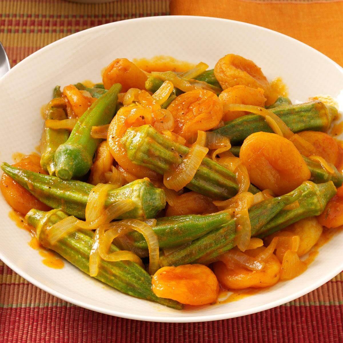 Armenian Okra Recipe
