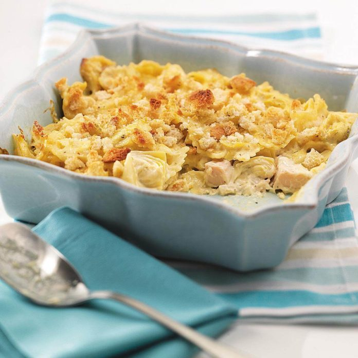 Artichoke and Chicken Casserole