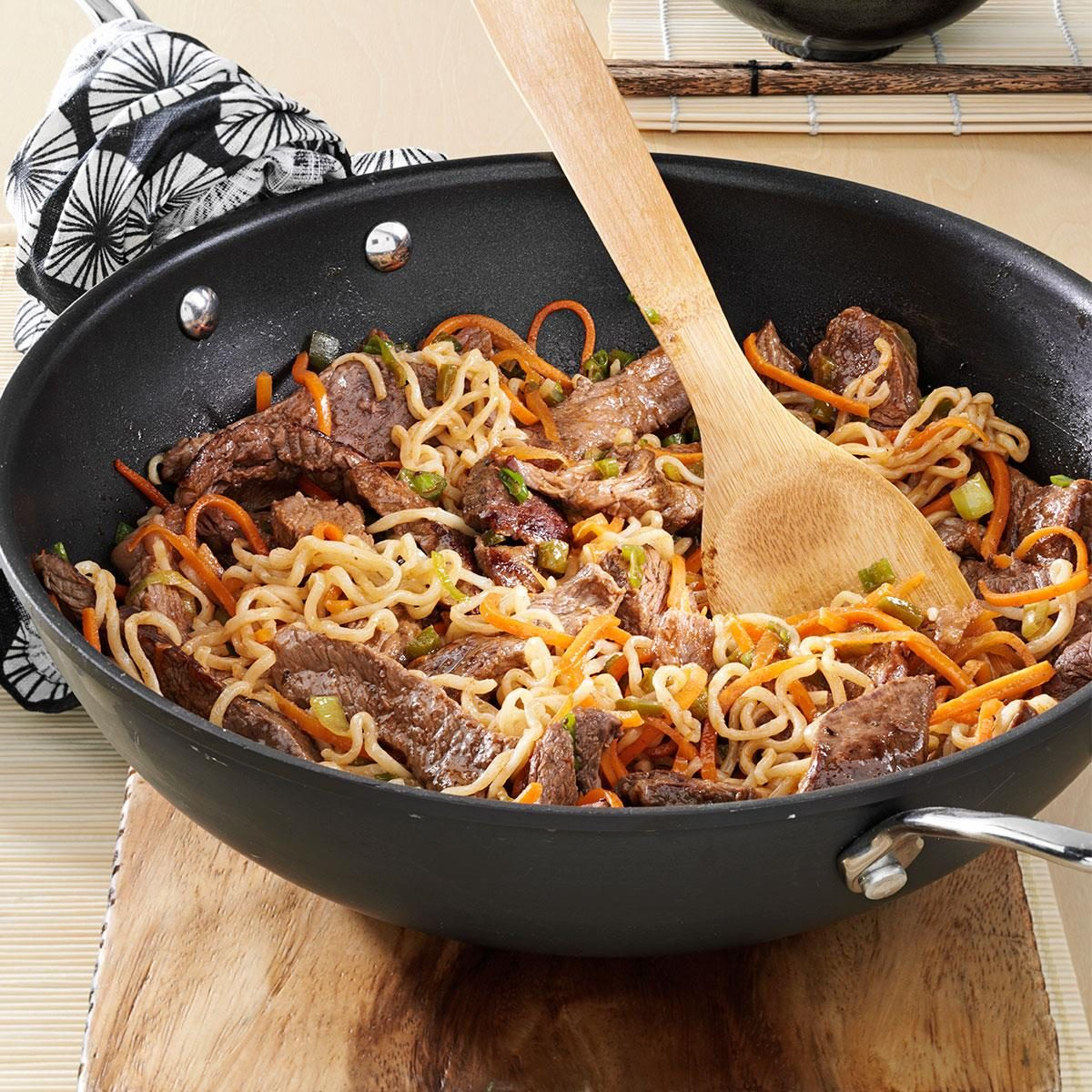 Asian Beef Noodles Recipe Taste Of Home
