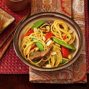 Asian Beef with Noodles