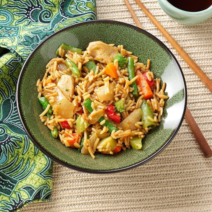 Asian Chicken Skillet