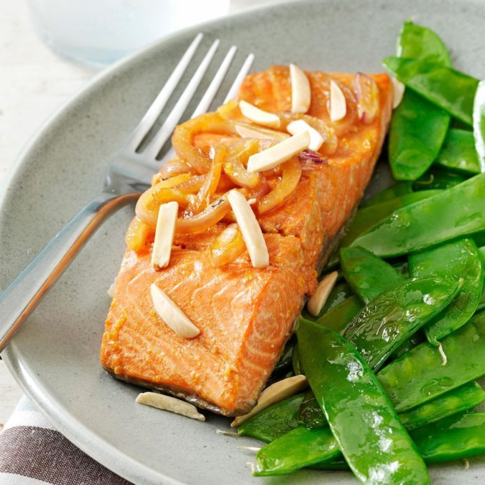 Asian Citrus Salmon