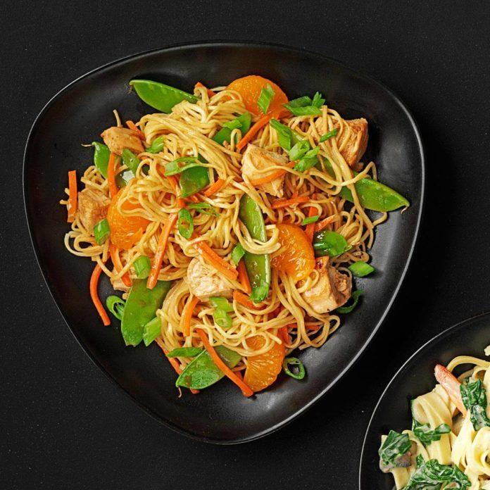 Asian Noodle Stir-Fry