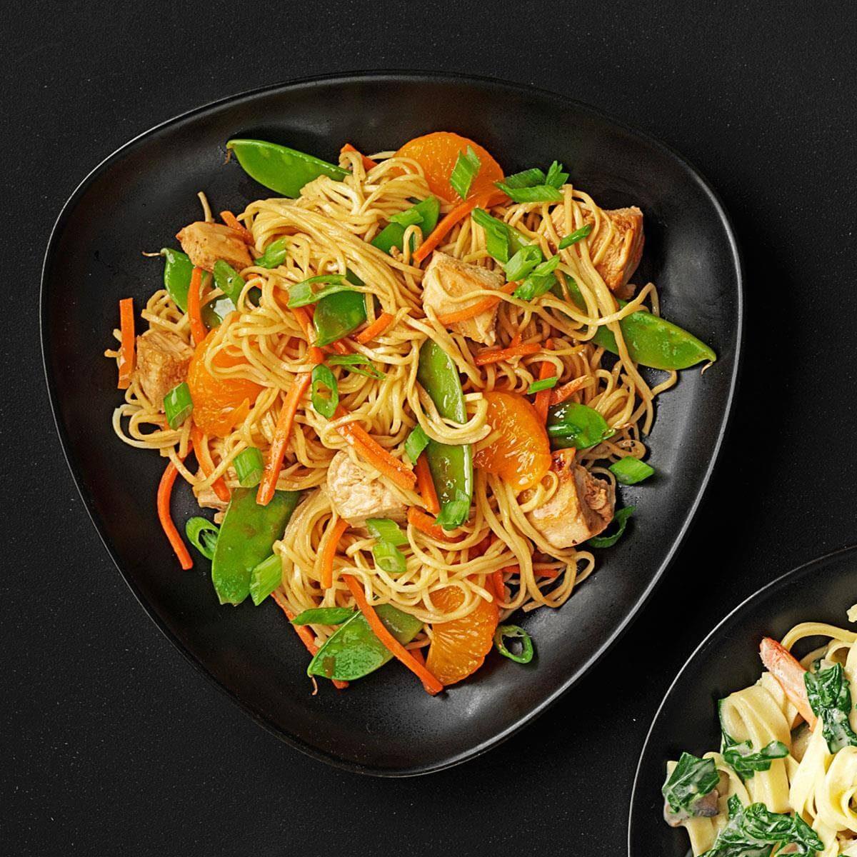 Asian Noodle Stir Fry Recipe Taste Of Home