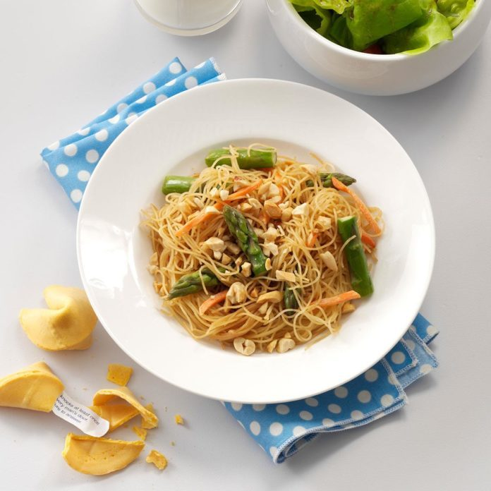 Asian Vegetable Pasta
