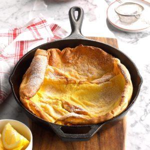 Aunt Edith's Baked Pancake