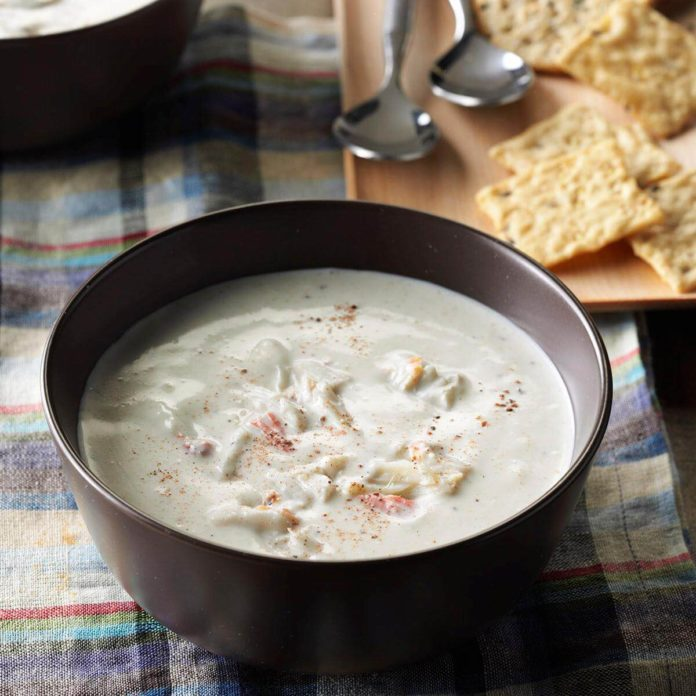 Aunt Nancy's Cream of Crab Soup
