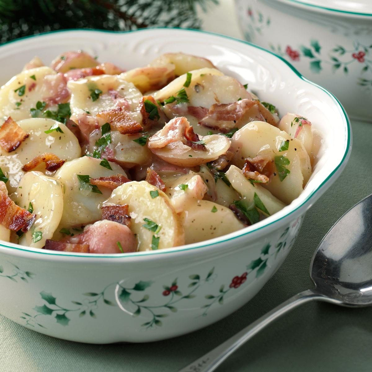 Authentic german potato salad recipe taste of home forumfinder Image collections