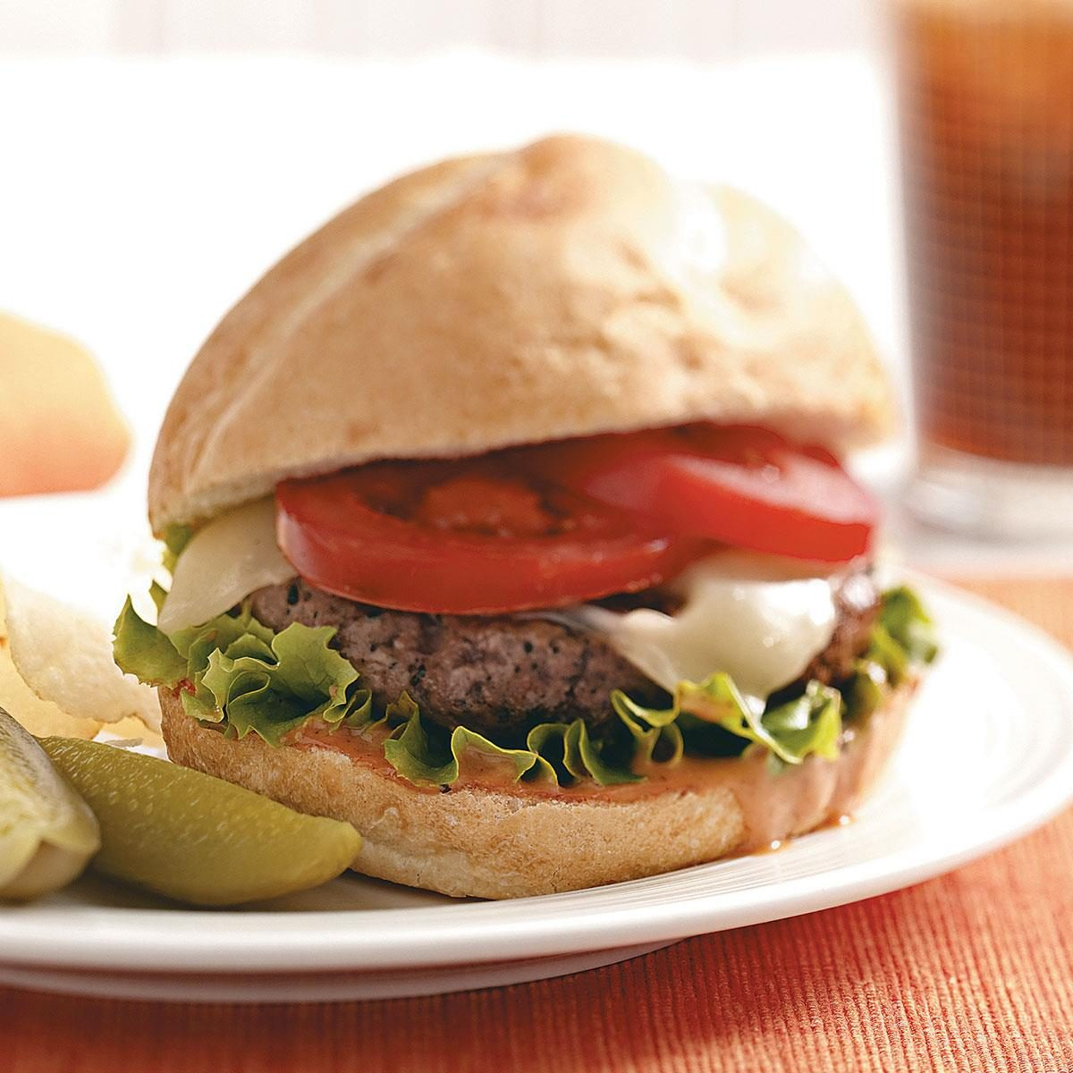 Bbq Bacon Burgers Recipe Taste Of Home