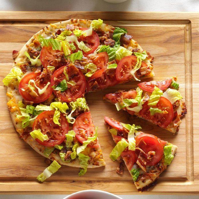 #3: BLT + Pizza