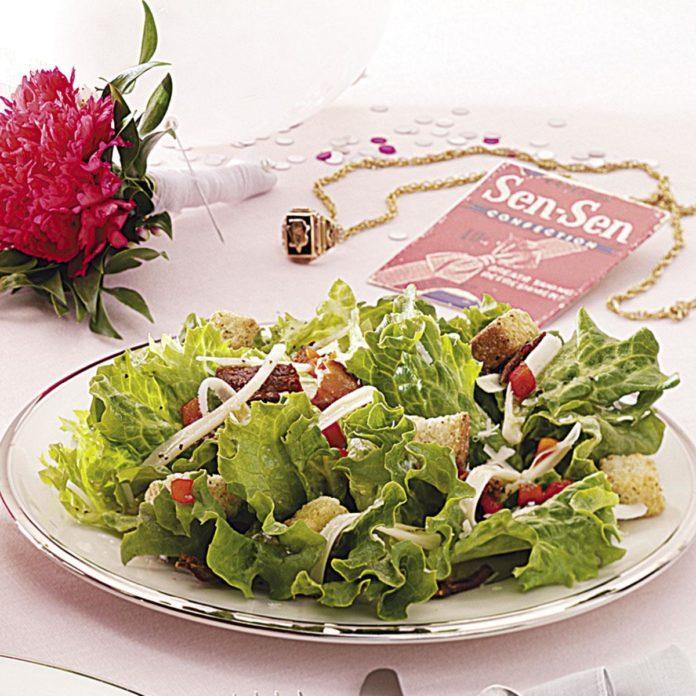 Bacon & Cheese Salad