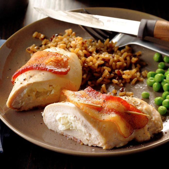 Bacon Chicken Roll-Ups