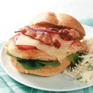 Bacon-Chicken Sandwiches