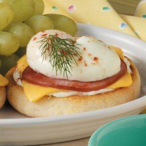 Bacon-Egg English Muffin