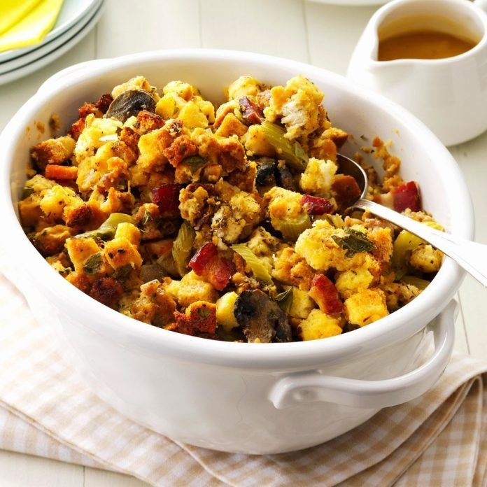 Bacon & Sausage Stuffing