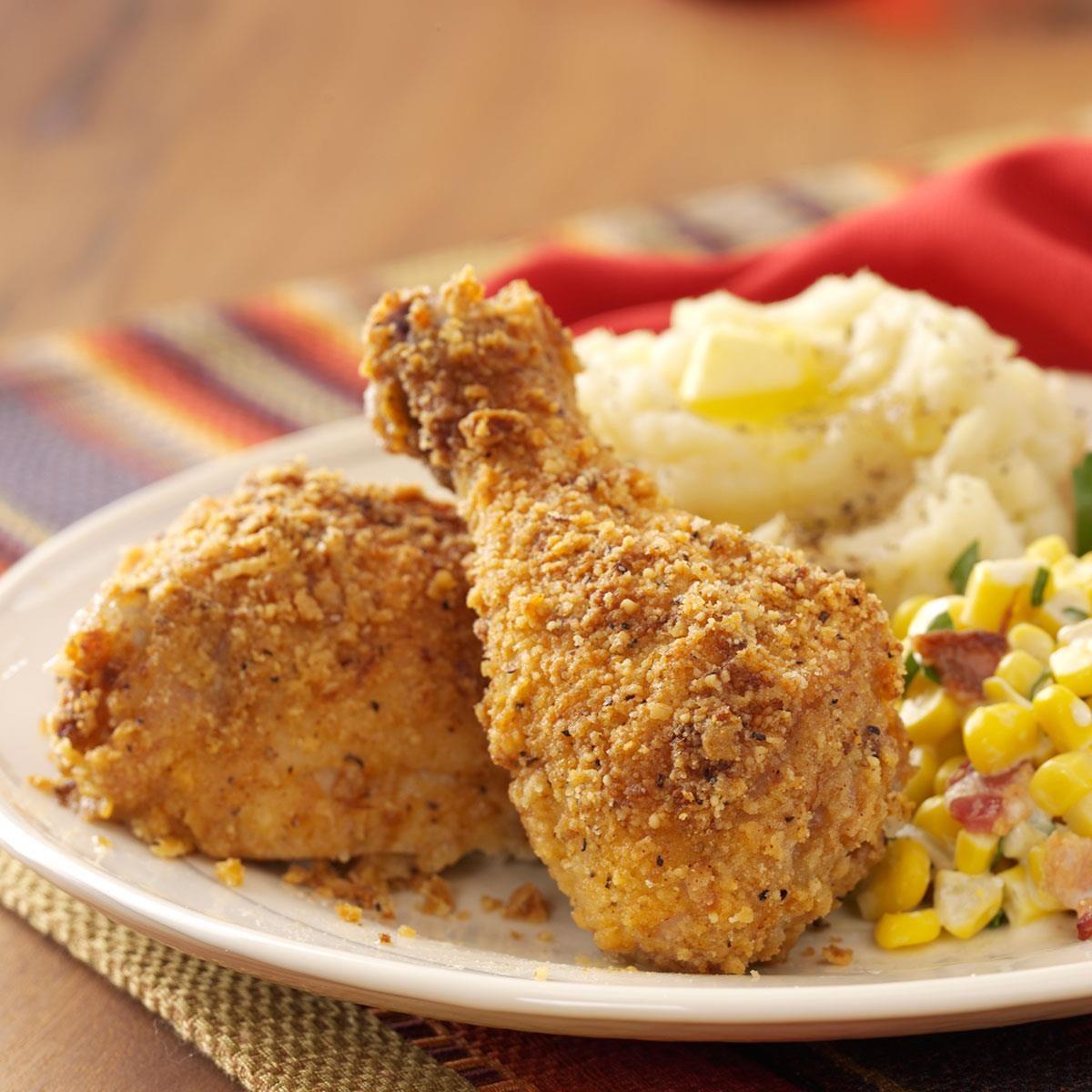 Baked Crunchy Chicken Recipe