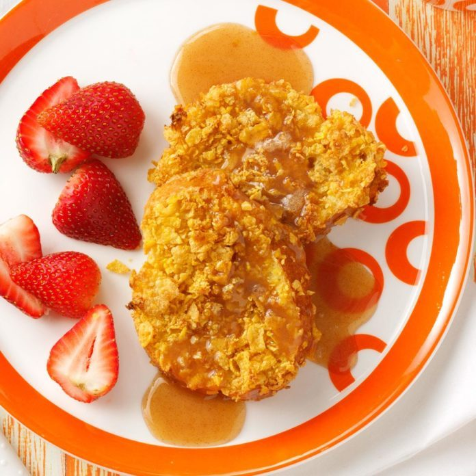 Baked French Toast with Home Style Syrup