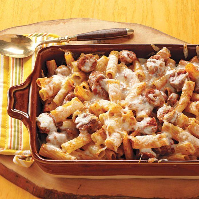 Baked Rigatoni & Sausage