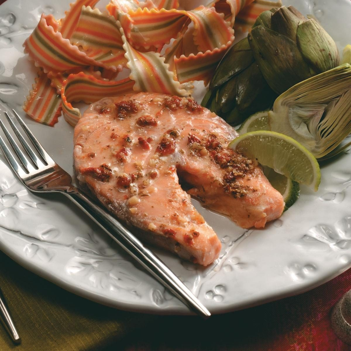 Baked Salmon Steaks Recipe