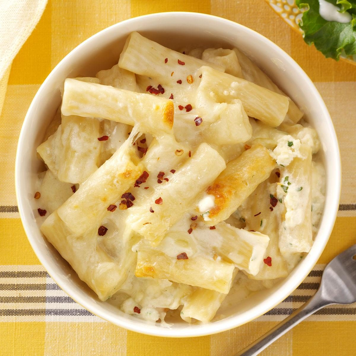 Baked Ziti With Cheese Recipe Taste Of Home