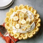 Banana Cream Pie with Cake Mix Crust