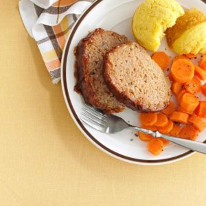 Barbecue Turkey Meat Loaf