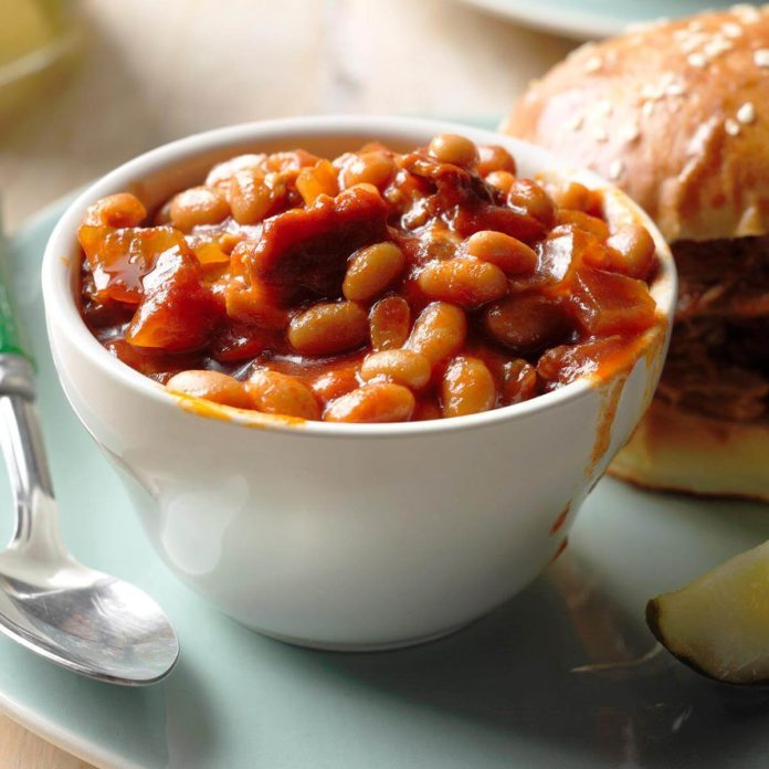 Day 2: Barbecued Beans