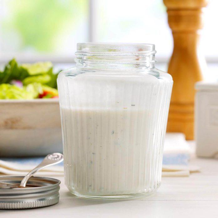 Basic Buttermilk Salad Dressing