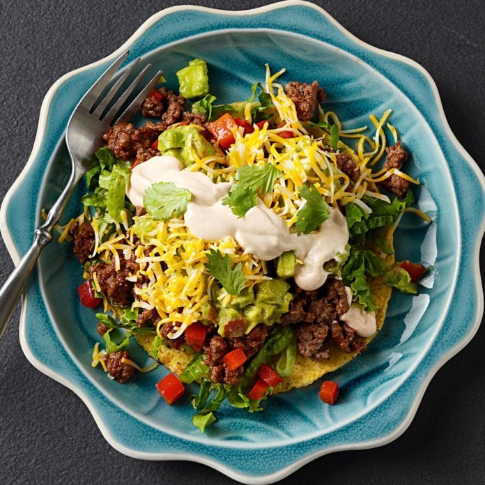 Stuff To Make With Ground Beef: Beef Tostadas Recipe