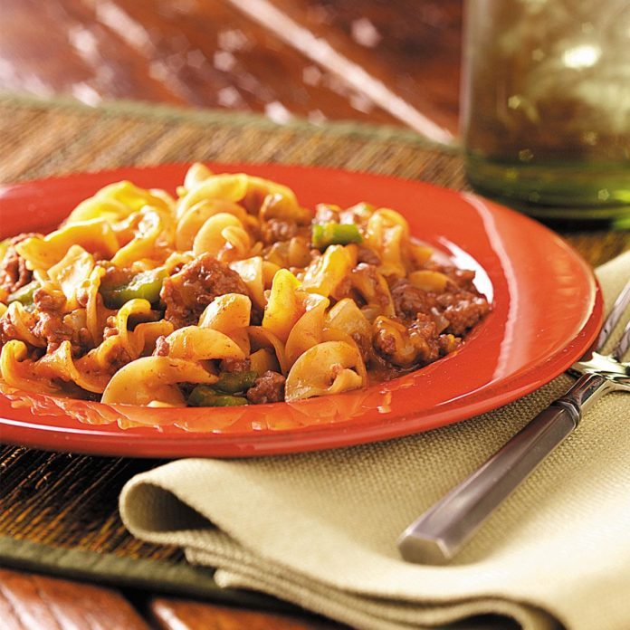 Beef And Noodle Casserole Recipe Taste Of Home