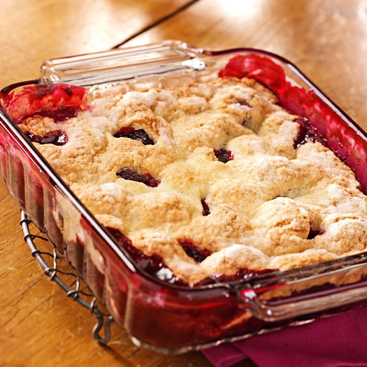 Blackberry Dessert Recipes: Best Blackberry Cobbler Recipe