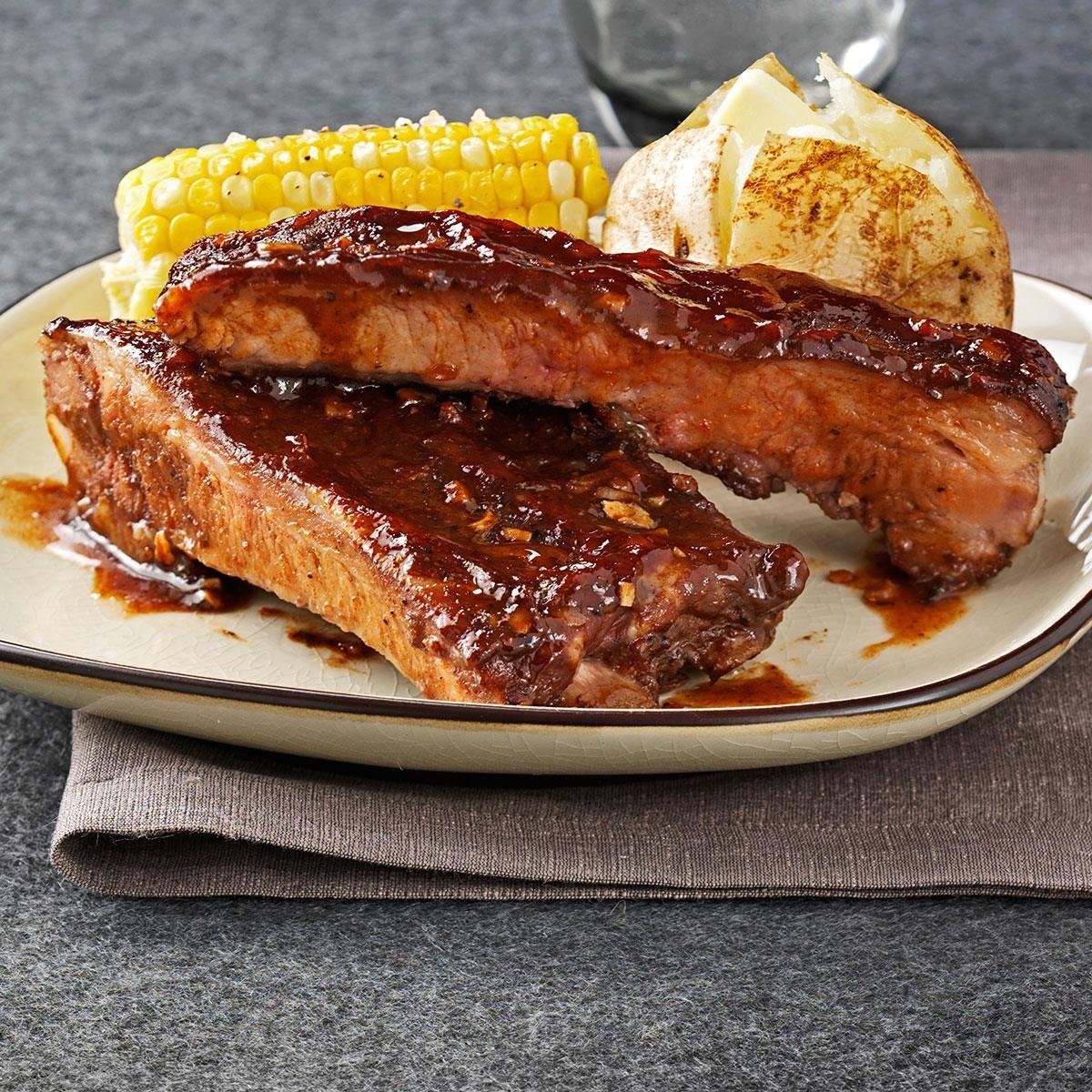 Big Daddy's BBQ Ribs Recipe