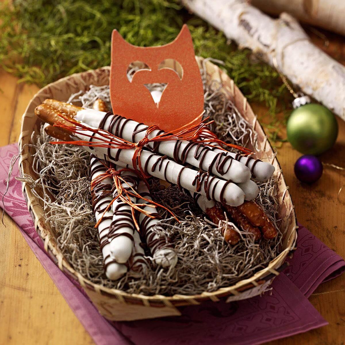Chocolate Pretzel Logs Dunmore Candy Kitchen: Birch Pretzel Logs Recipe