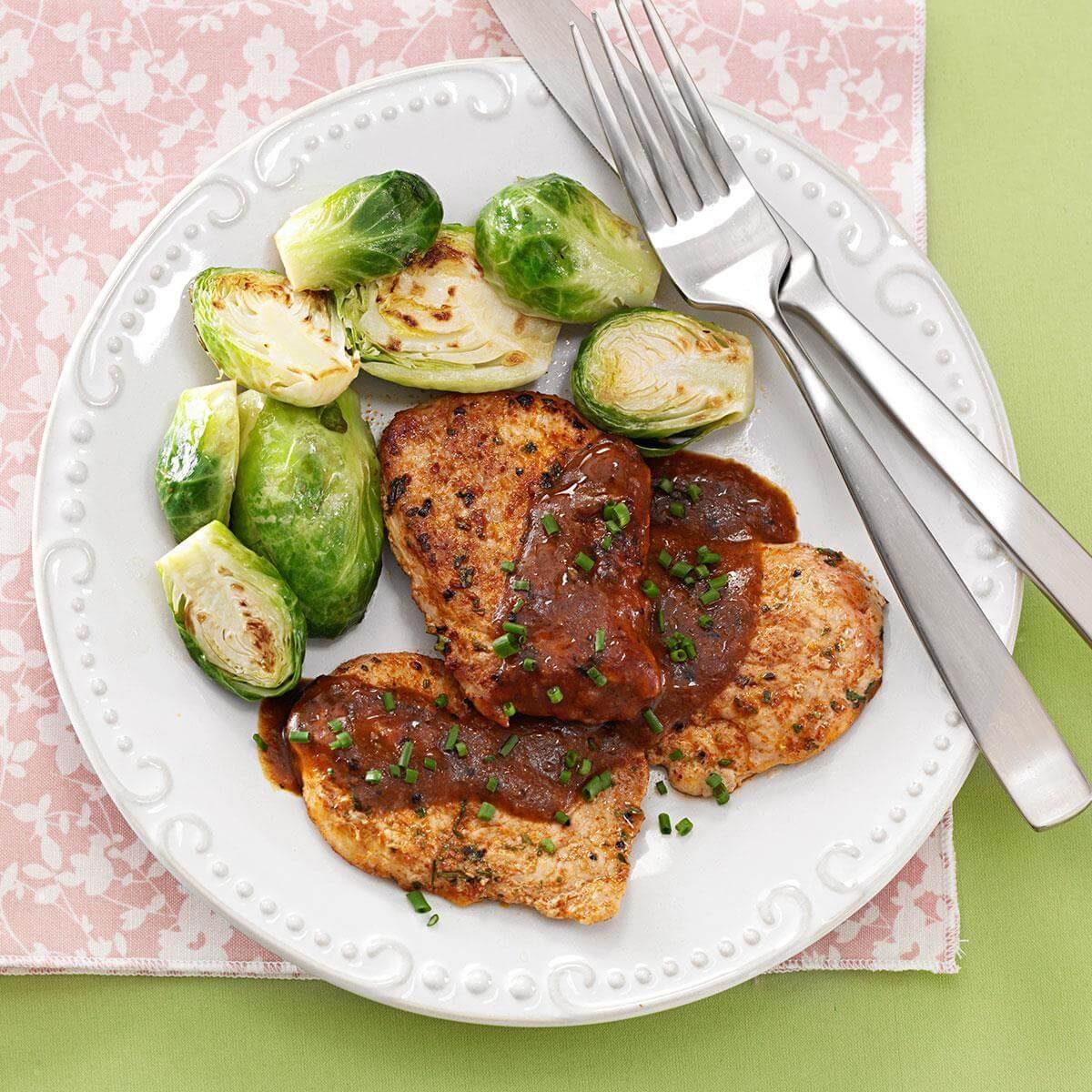 Pork Tenderloin Recipes: Bistro Herb-Rubbed Pork Tenderloin Recipe