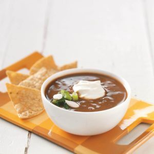 Black Bean-Pumpkin Soup