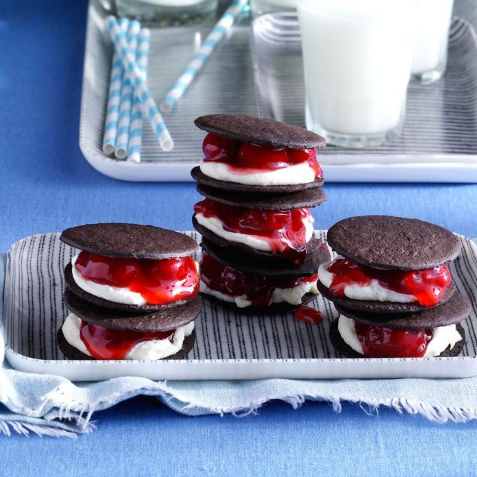 Black Forest Sandwich Cookies
